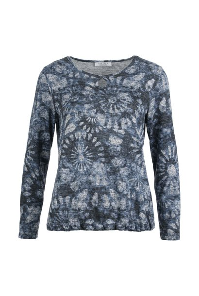 Enjoy Dames Sweater Blouson AOP 183985