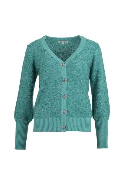 Enjoy Dames Vest V-Hals Bloucle 420157
