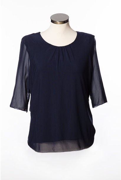 MDH Dames Shirt 1/2 Mouw 1L667 Rocco