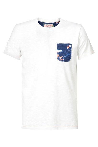 Petrol Heren Shirt KM M-2010-TSR711