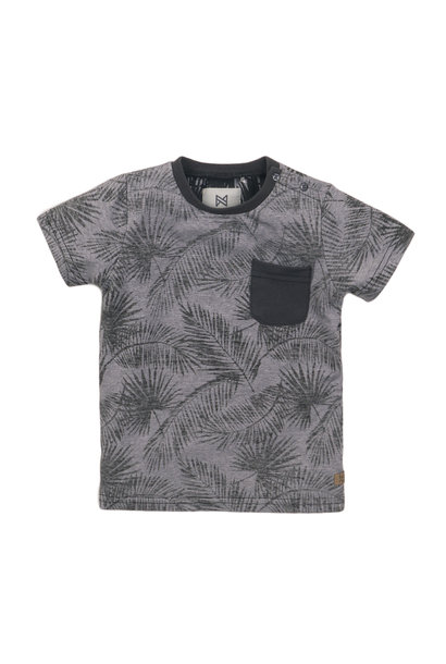 Koko Noko Jongens Shirtje KM Bladeren E38834-37
