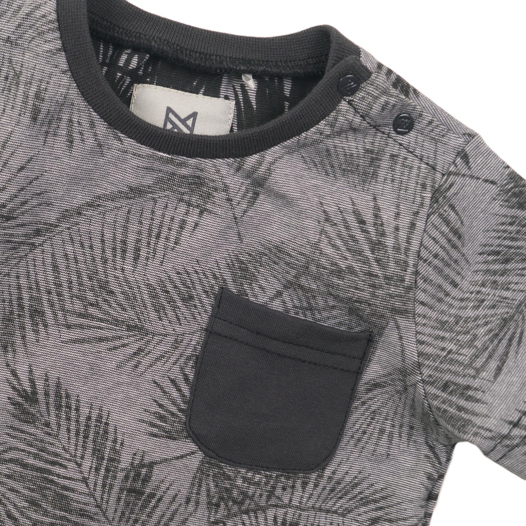 Koko Noko Jongens Shirtje KM Bladeren E38834-37-3