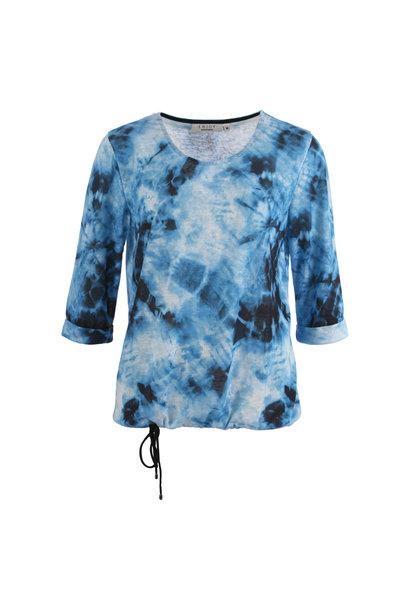 Enjoy Dames Shirt 3/4 mouw Batik AOP 171263