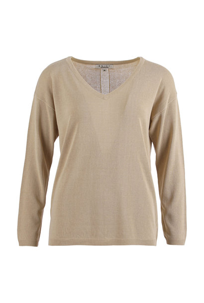 Enjoy Dames Pullover V-hals LM 421206