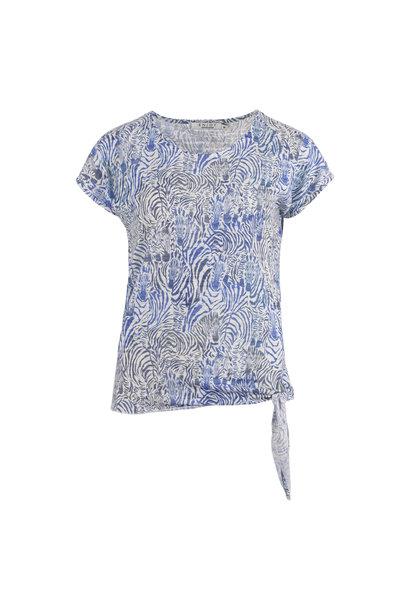 Enjoy Dames Shirt KM Zebra 470136
