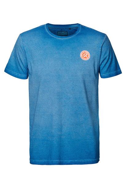 Petrol Heren Shirt KM M-1010-TSR678