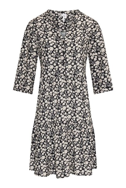 Dreamstar Dames jurk BLOEMPRINT Z21 247 Melrose