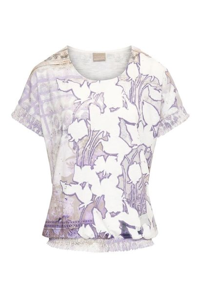 Dreamstar Dames top FAIRY PRINT Z21 250 Opal