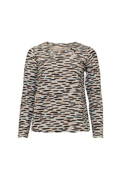 Micha Dames Shirt Print 165-119