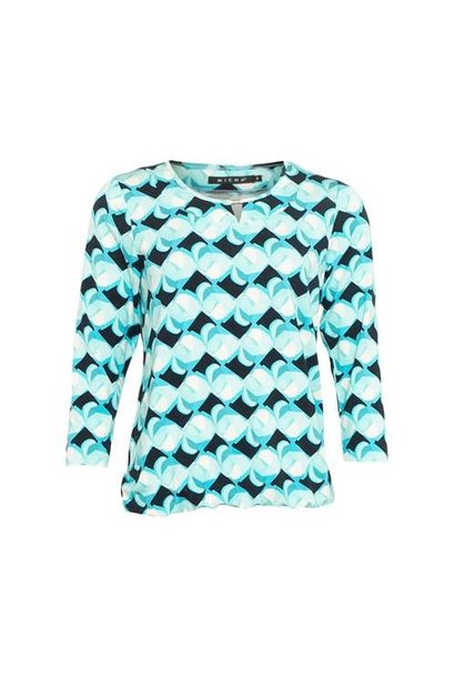 Micha Dames Shirt Print 165-115