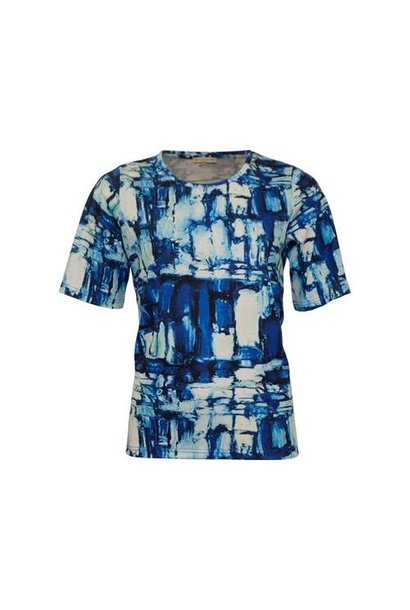 Micha Dames Shirt Print 165-193