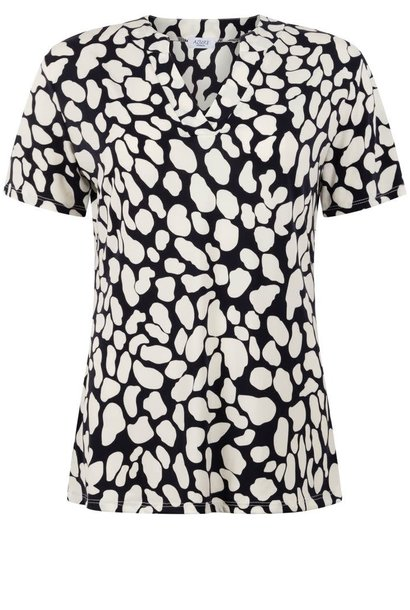 Azuri Dames Shirt Print 6099/A