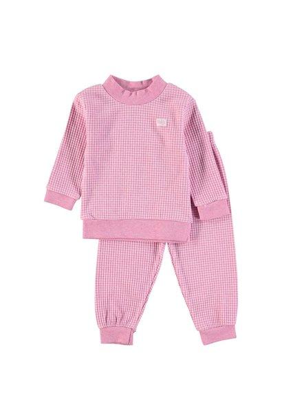 Meisjes Pyjama wafel 305.533.1