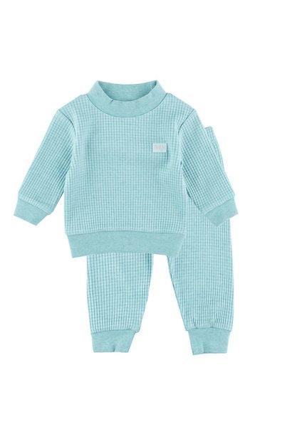 Jongens Pyjama wafel 305.533.1
