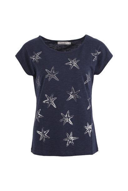 Dames Shirt KM Sterren 472079