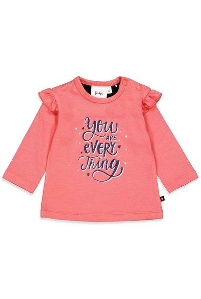 Feetje Meisjes Shirtje LM Everything - Sweetheart 51601726