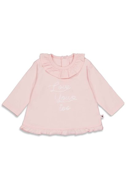 Feetje Meisjes Shirtje LM Love You - Cutest Thing Ever 51601745