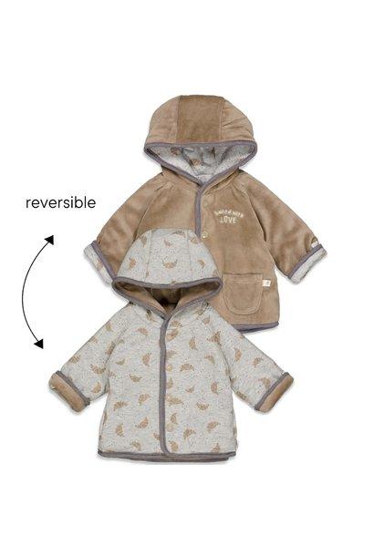Feetje Baby Omkeerbaar jasje met capuchon - Little Croissant 51800254
