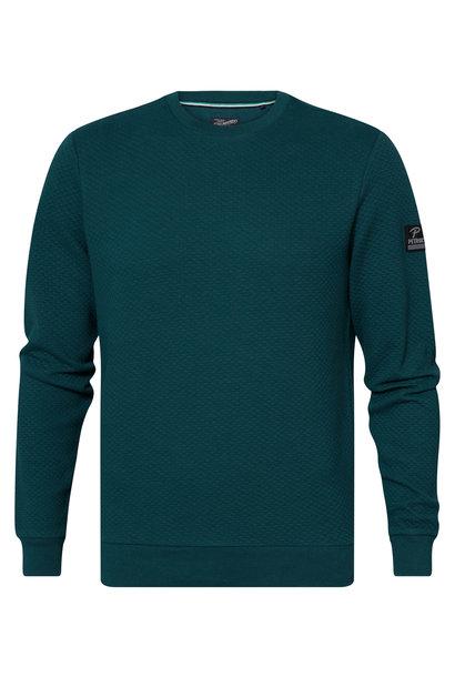 Petrol Sweater M-3010-SWR328