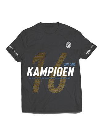 T-shirt Zwart KAMP16EN