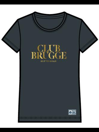 T-shirt goud Club Brugge (dames)
