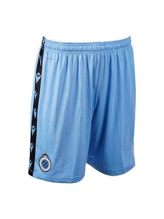 Keeper short blauw volw. 20/21