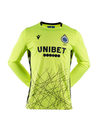 Keeper shirt geel volw. 20/21