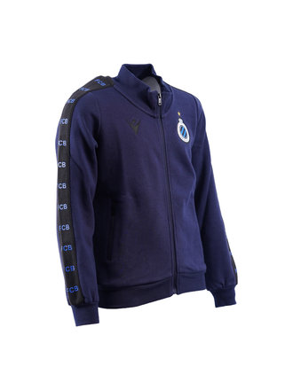 Sweater full zip navy (kids)