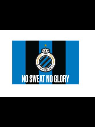 Vlag 'No Sweat/No Glory' (1,5 x 1m)
