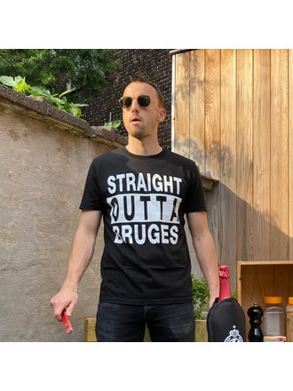T-shirt Straight outta Bruges