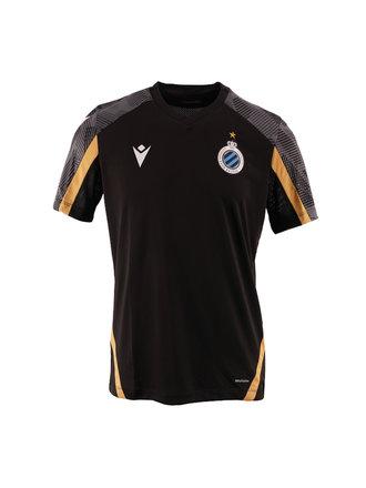 Training t-shirt zwart volw. 21/22