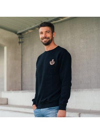 Casual 1891 Sweater 130 Years zwart