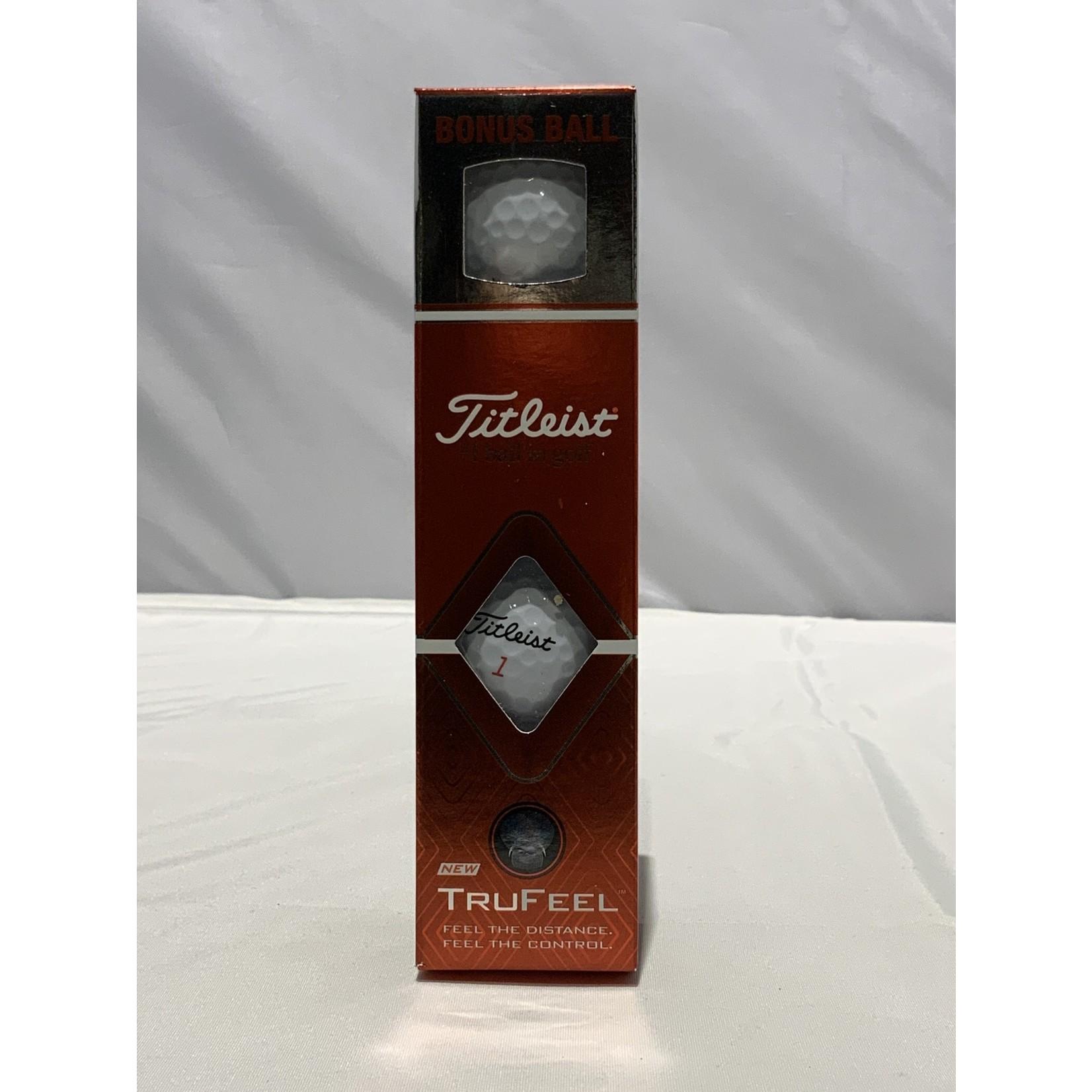Titleist Titleist TruFeel bonus ball