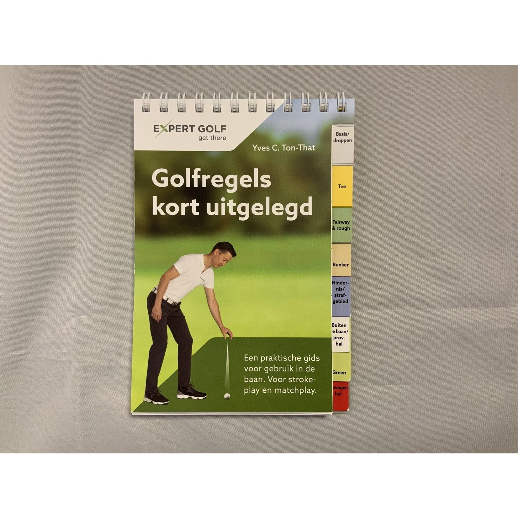NGF boeken Expert Golf - Golfregels kort uitgelegd