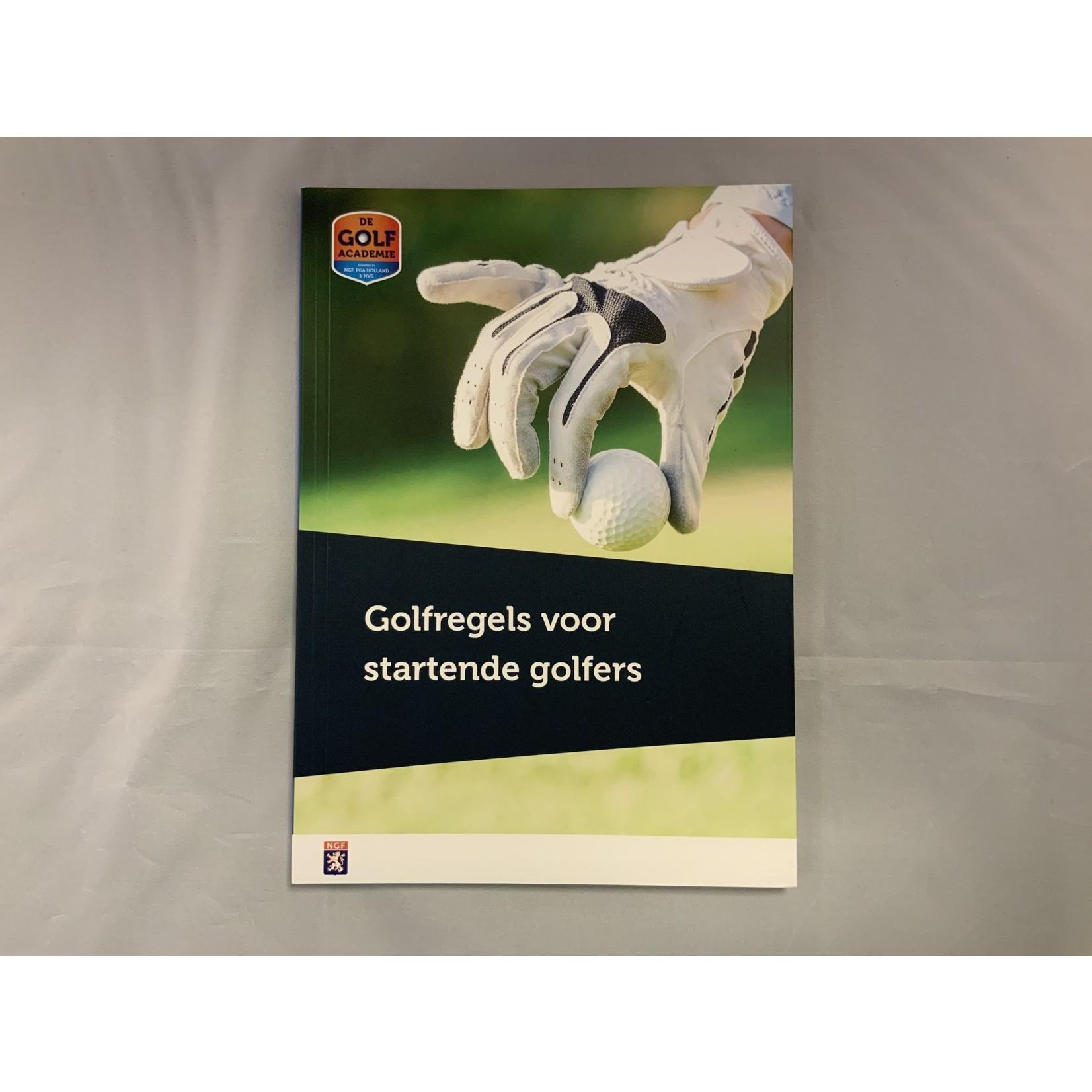 NGF boeken NGF - Golfregels voor de startende golfer