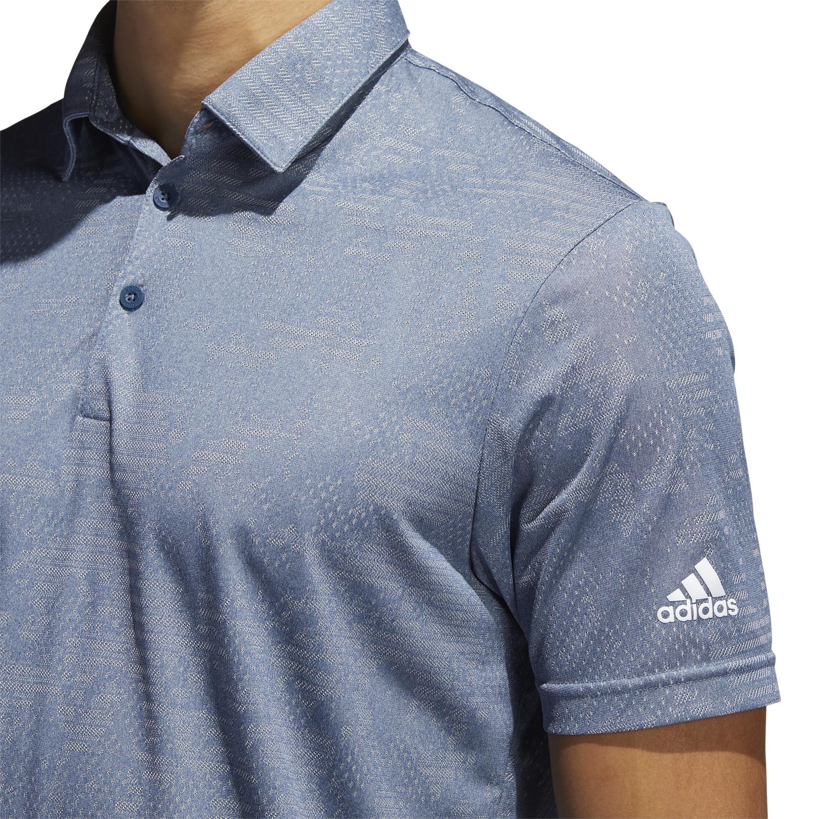Adidas Adidas Camo Polo - Navy/Grey