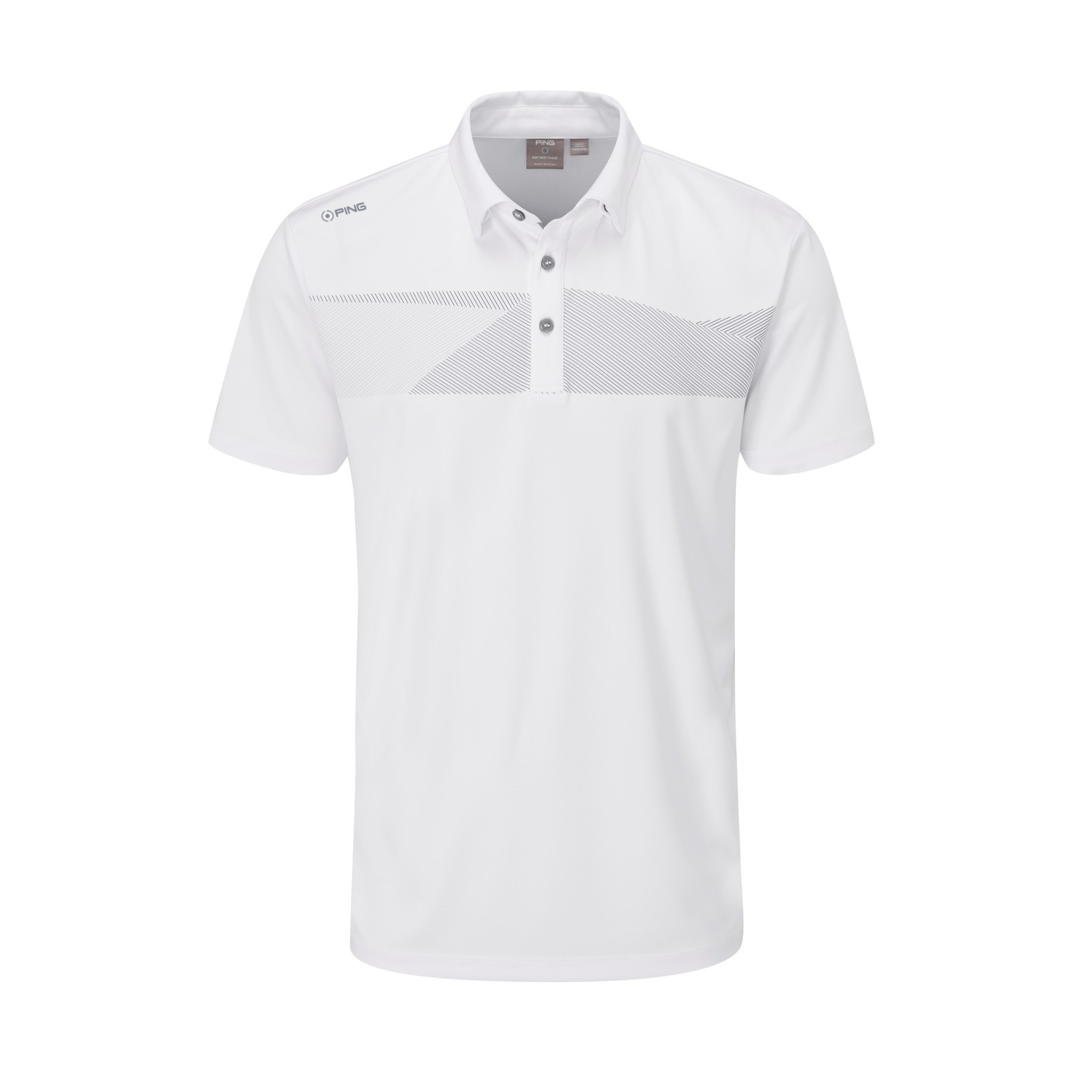 Ping Ping Holten Polo - White