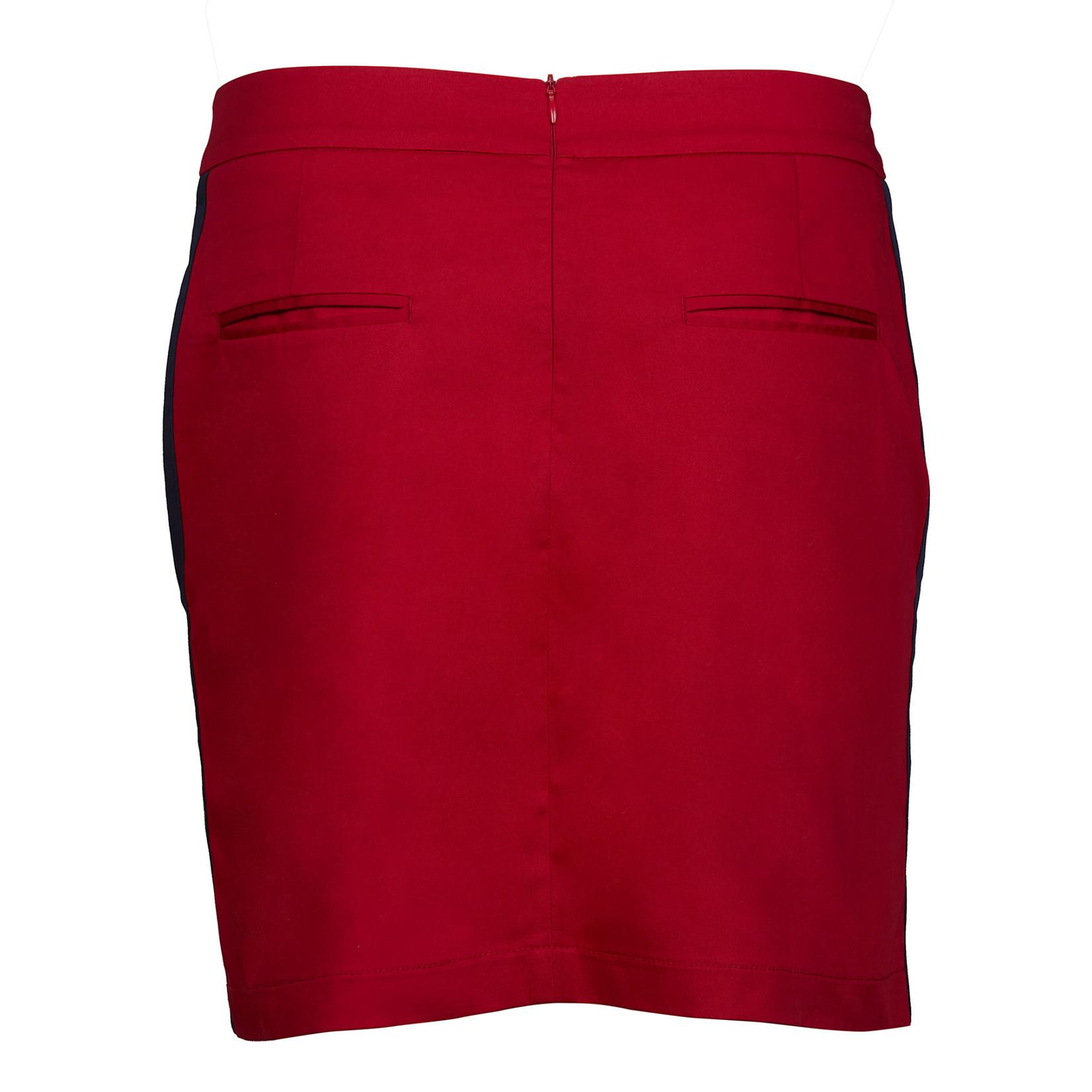 Girls Golf Girls Golf Skort - Fritzie White/Red Swing