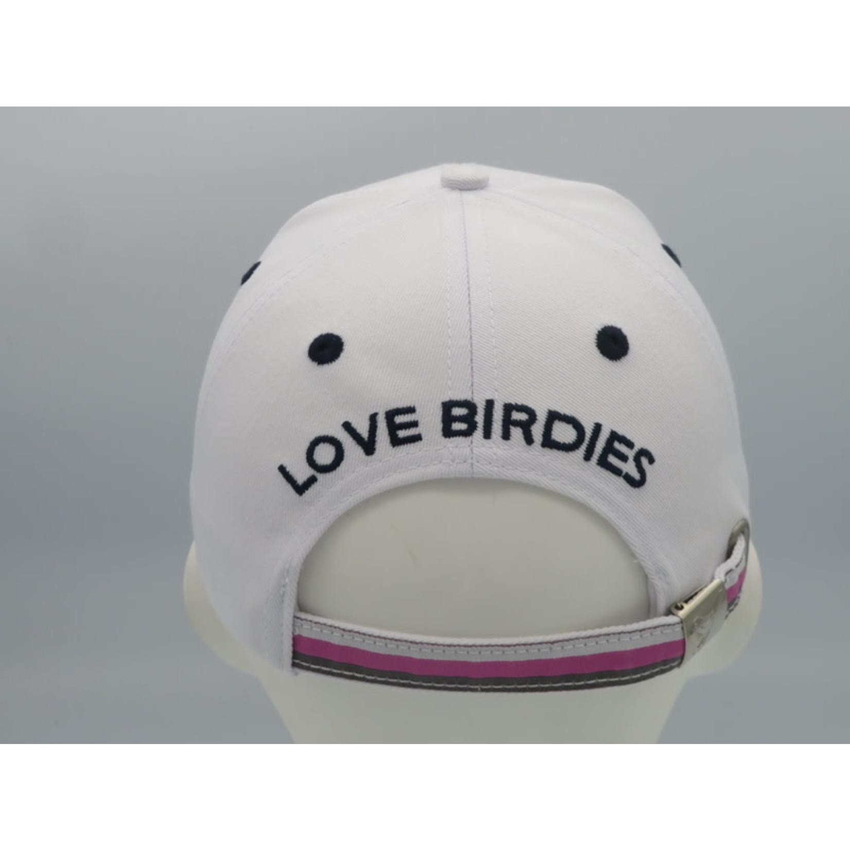 Girls Golf Girls Golf White/Stars CAP