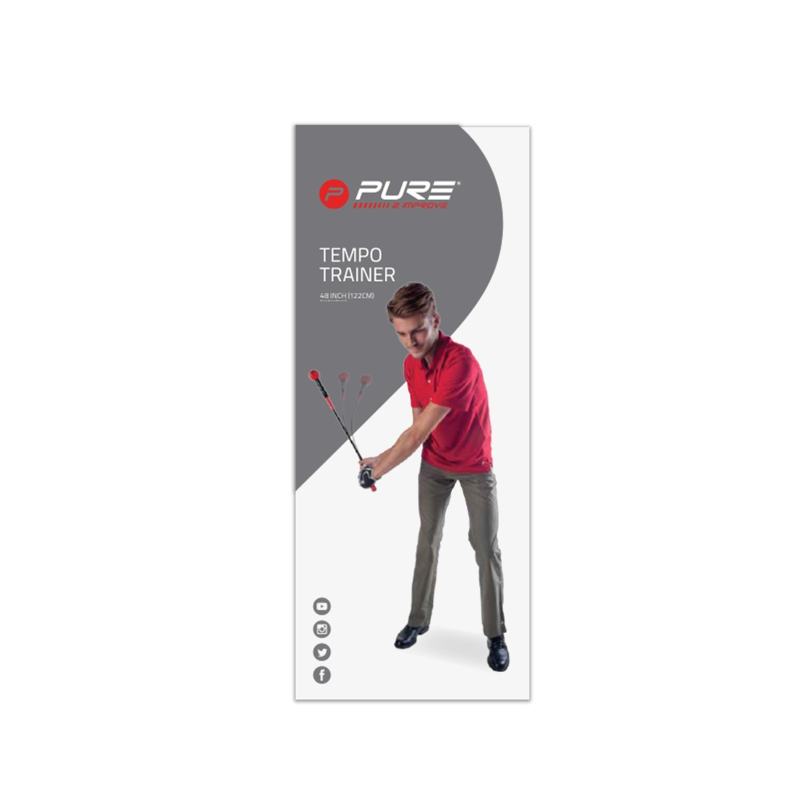 """Pure 2 Improve Pure2Improve Tempo Trainer 48"""""""