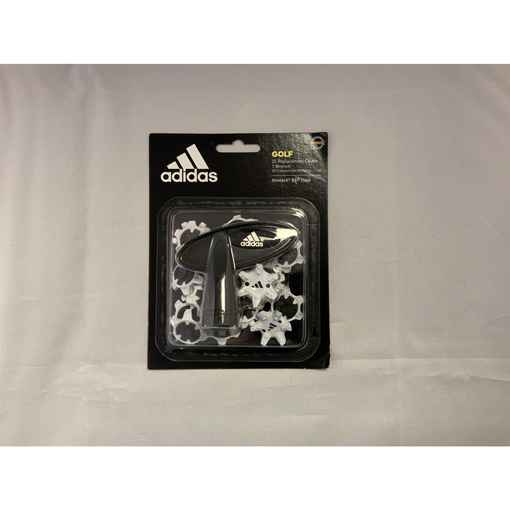 Adidas Adidas Softspikes PINS White