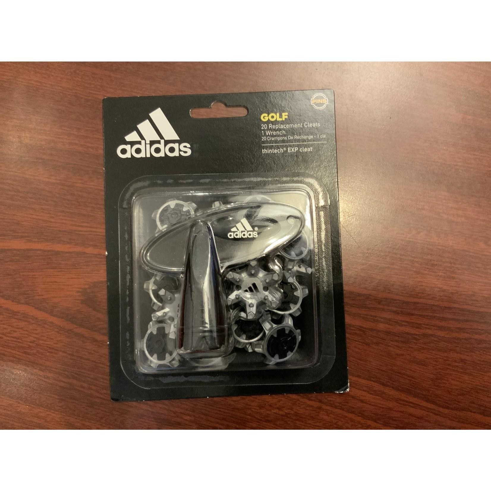 Adidas Adidas Softspikes PINS Silver