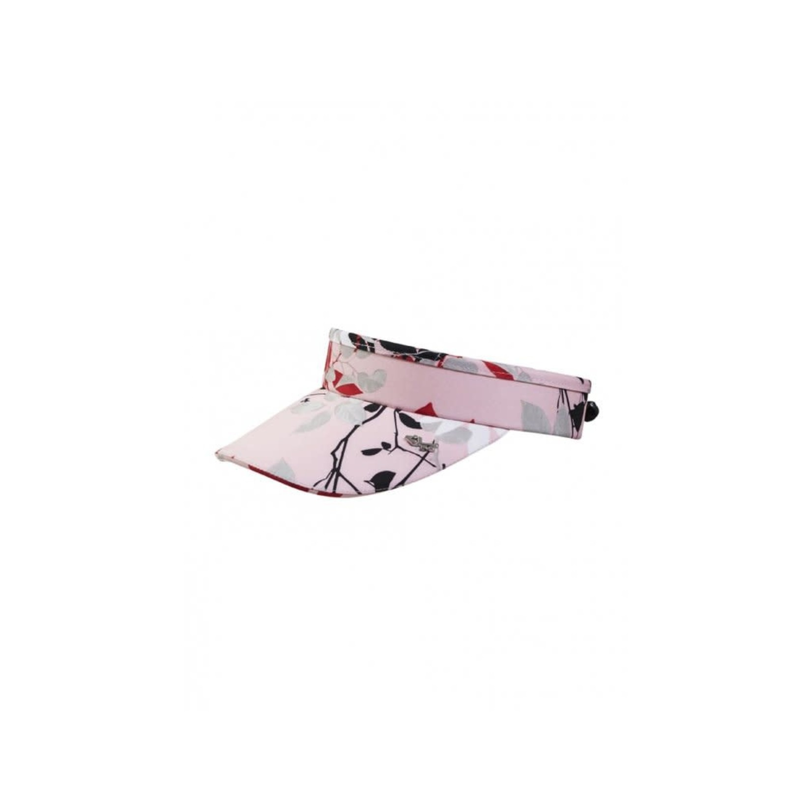 Rohnisch Rohnisch Sun Visor Pink Leaves T078