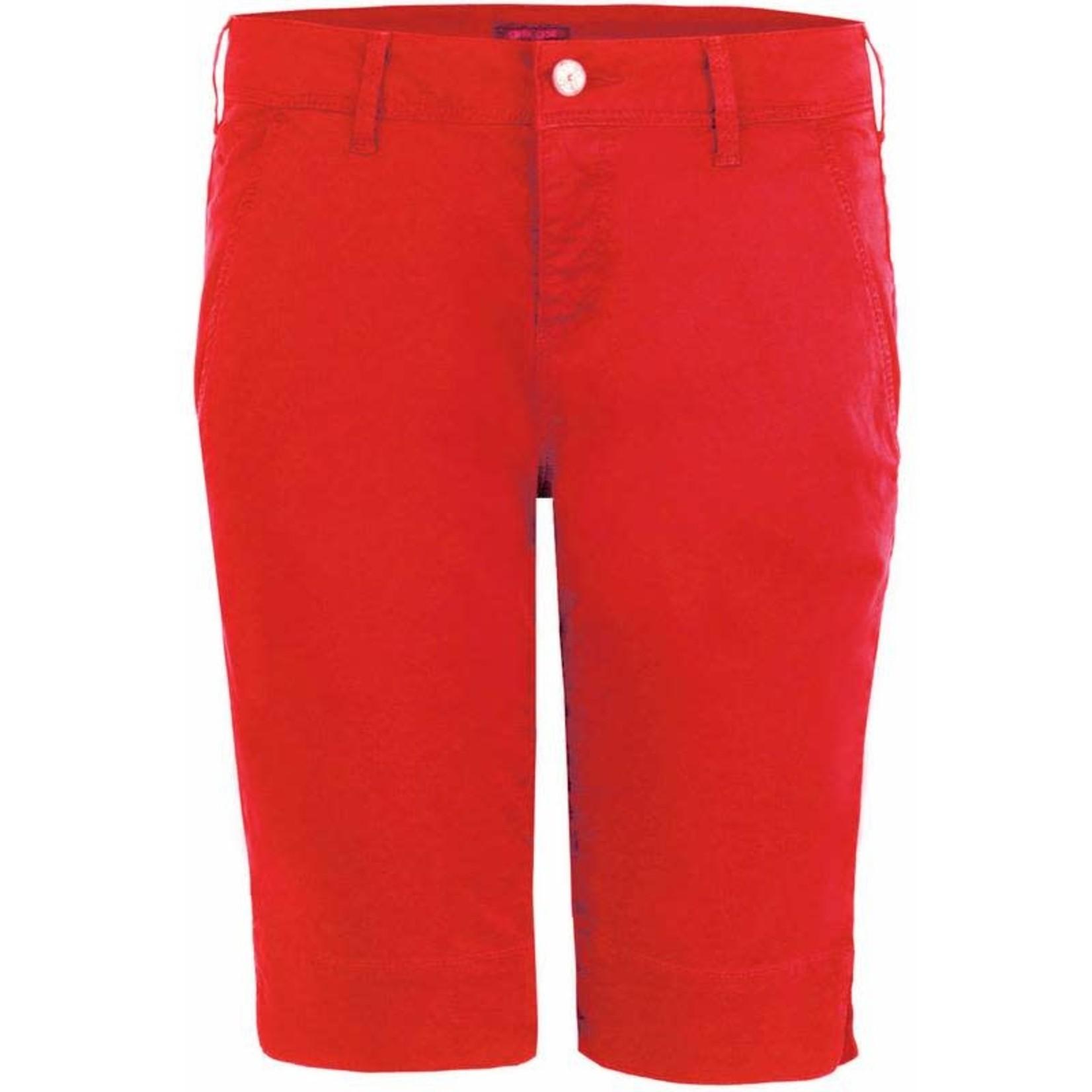 Girls Golf Girls Golf Bermunda Red