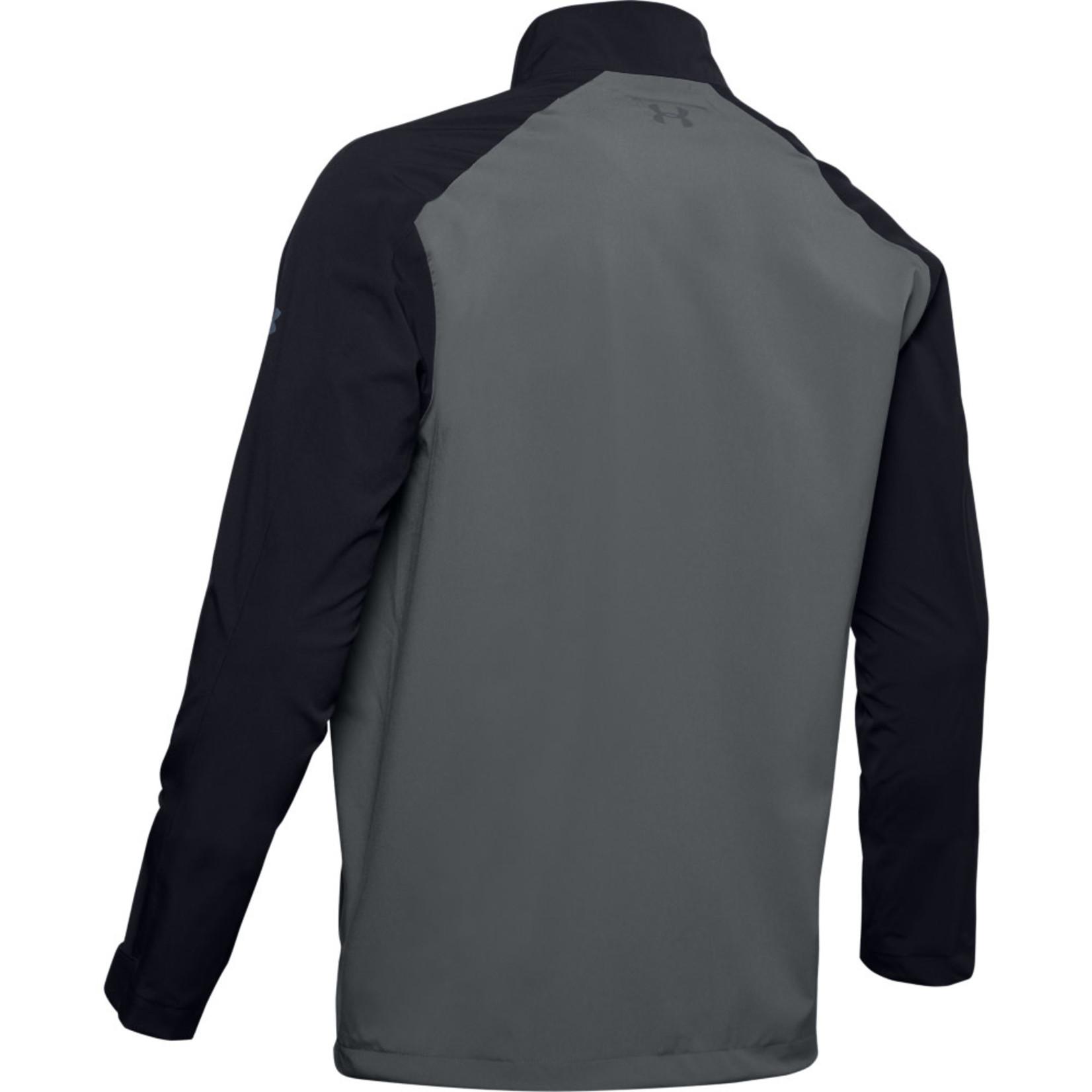 Under Armour Under Armour Elements Rain Jacket (MENS) Black/Grey