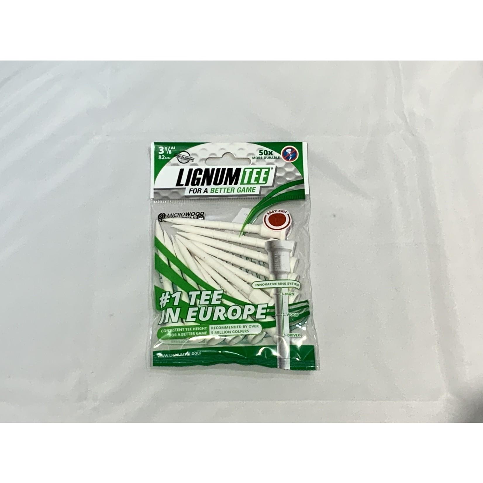 Lignum Lignum Tees 82mm White