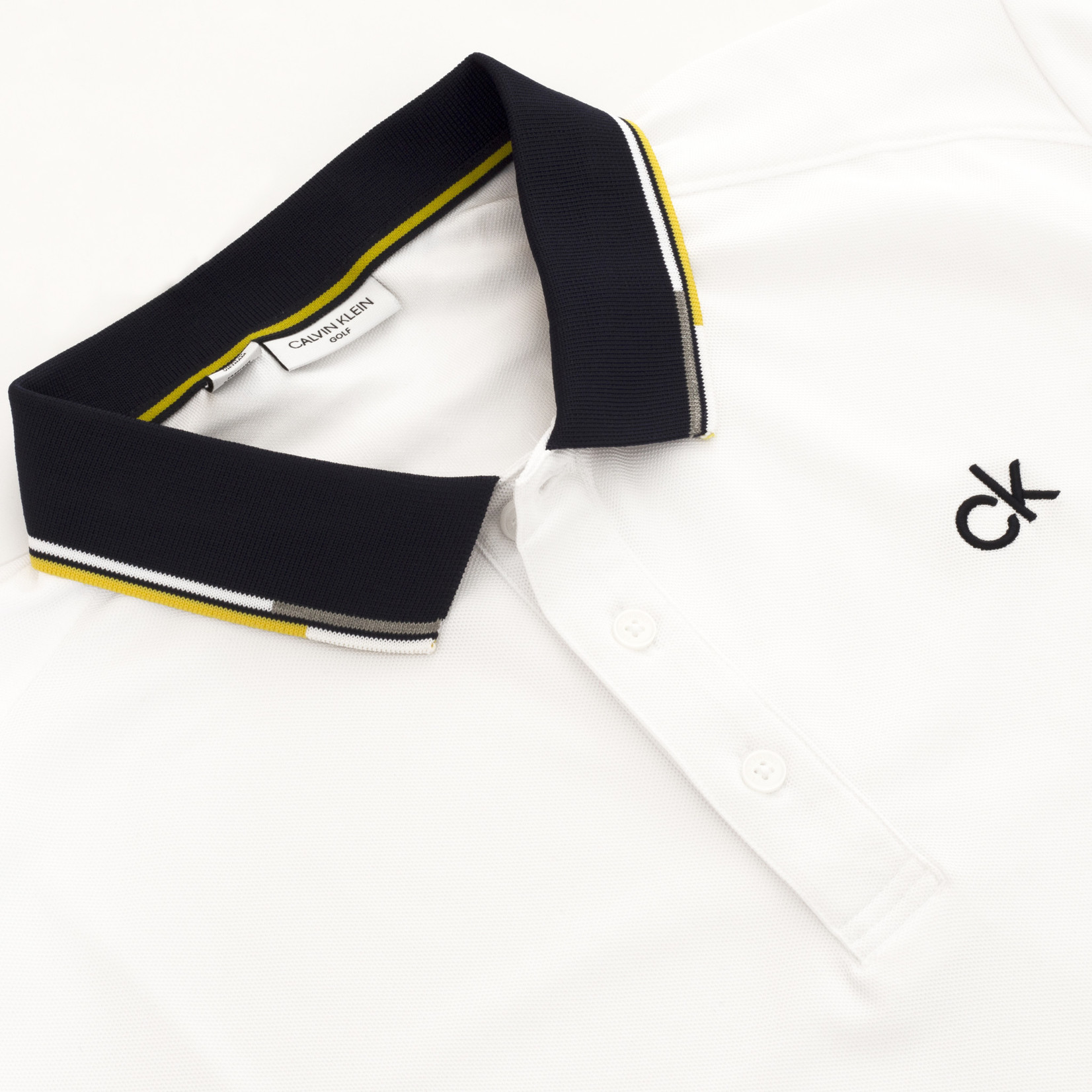 Calvin Klein Calvin Klein Snead Polo WHITE SOLAR