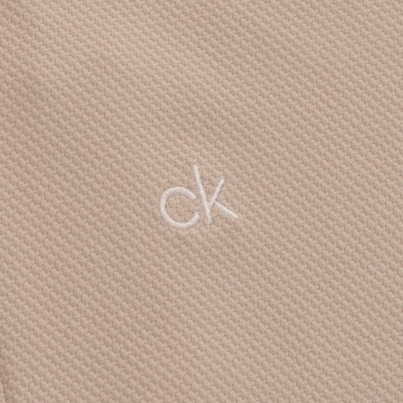Calvin Klein Calvin Klein Ness Cap Sleeve Polo FOSSIL
