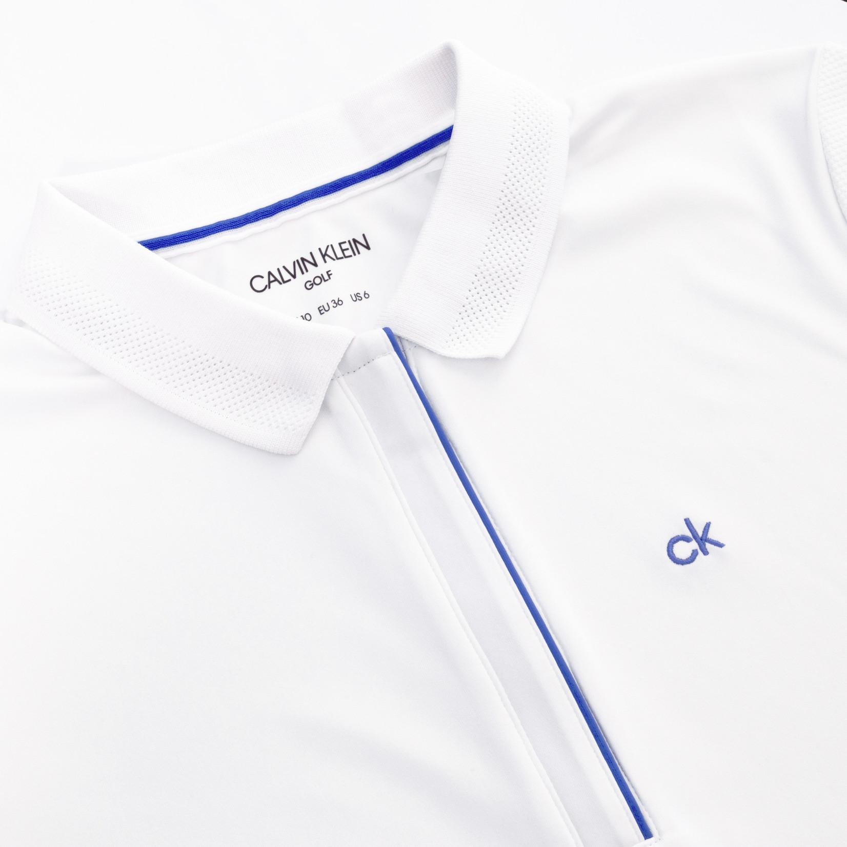 Calvin Klein Calvin Klein Elbe Polo WHITE/YALE BLUE