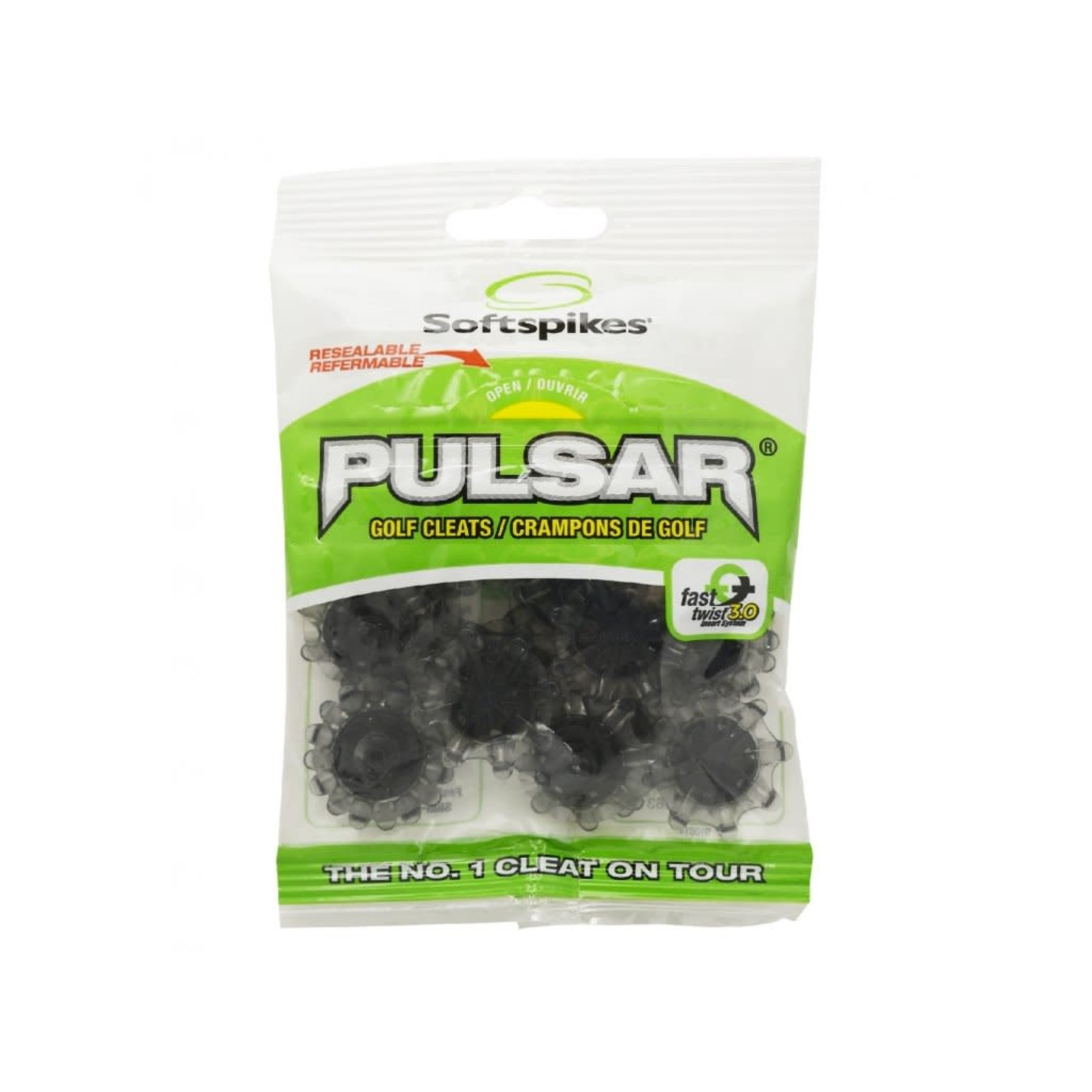 Softspikes Softspikes Pulsar (Fast Twist 3.0) Black/Grey